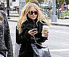 Slide Picture of Mary-Kate Olsen With Coffee in New York