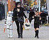 Slide Picture of Kate Winslet Dressed Up For Halloween With Kids