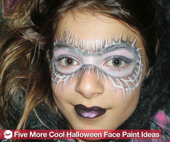 5 More Cool Halloween Face Paint Ideas