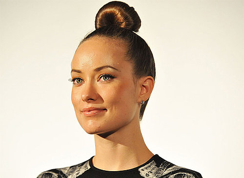 Picture of Olivia Wilde Wearing a Tight Bun in Tokyo