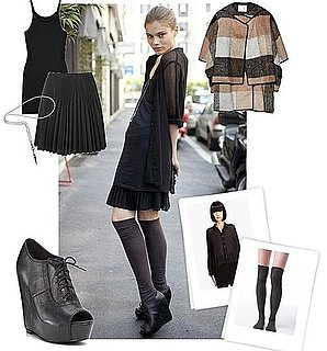 How to Wear Knee-High Socks Trend For Fall 2010
