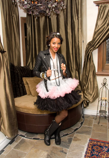 Angela Simmons — Punk Princess