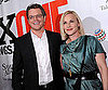 Slide Picture of Matt Damon and Patricia Arquette at ONEXONE Annual Fundraiser