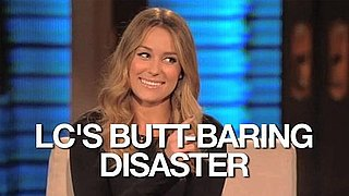 Video of Lauren Conrad Talking About a Wardrobe Malfunction on Lopez Tonight 2010-10-27 14:40:57