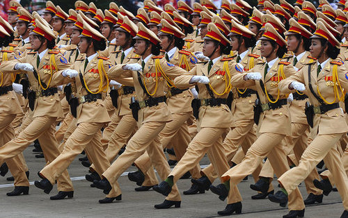 Chinese Town Will Only Hire Female Police Officers Between 18 and 23