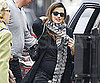 Slide Picture of Penelope Cruz Pregnant in London