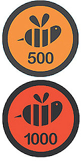 New Foursquare Swarm Badges