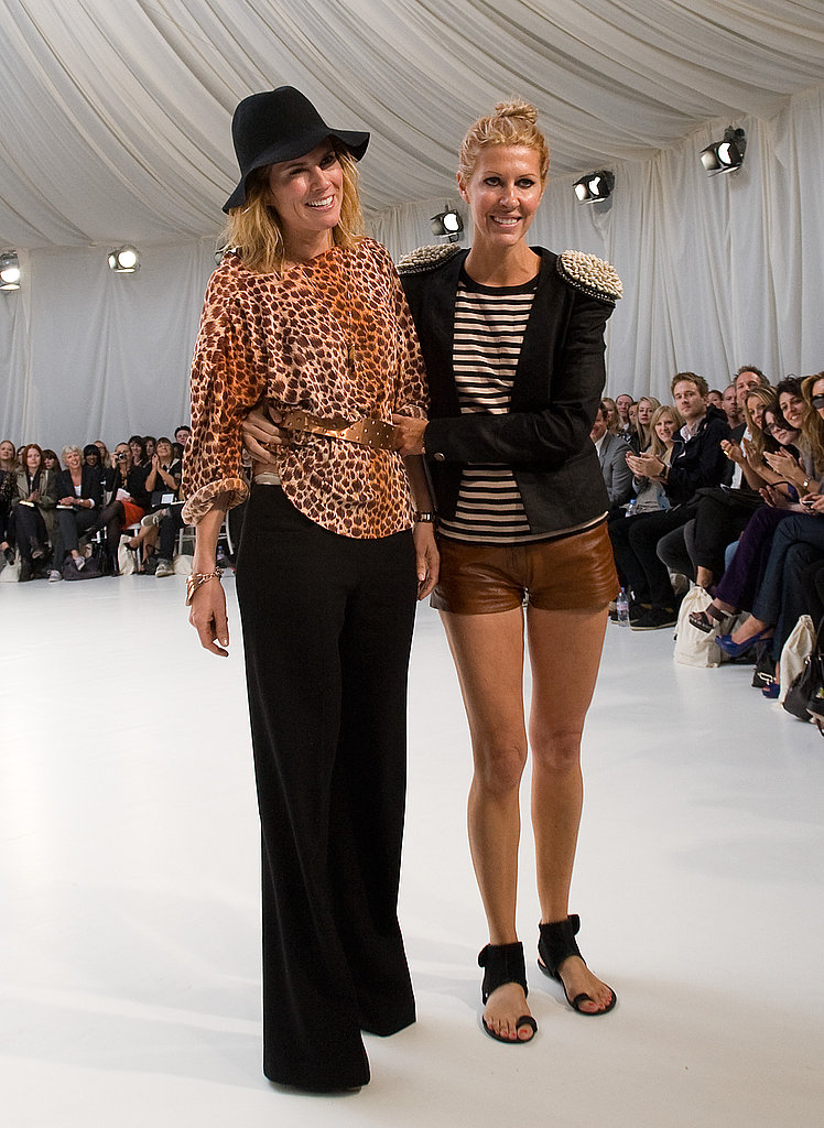 Sass & Bide designers Sarah Jane Clarke and Heidi Middleton coordinate without being overly matchy.
