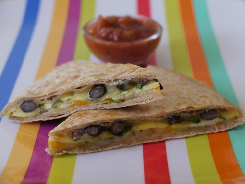 Mexican Egg & Cheese Quesadilla
