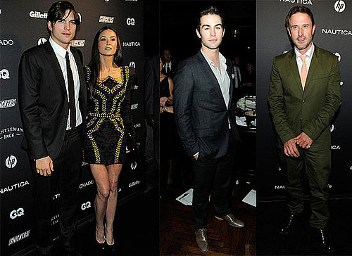 Ashton Kutcher, Demi Moore, Jimmy Fallon, David Arquette at GQ Gentleman's Ball