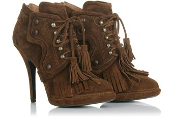 Givenchy - NUBUCK LEATHER BOOTIES