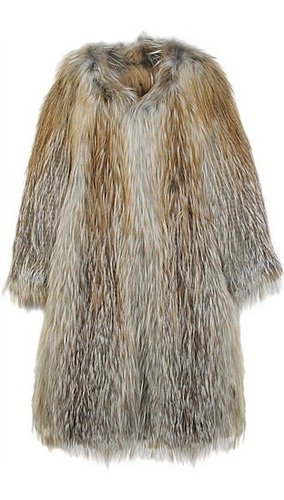 Ines & Marechal - SENTIMEN FOX FUR COAT
