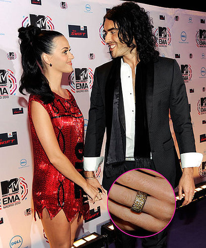 Picture of Katy Perry and Russell Brand at the MTV Europe Music Awards