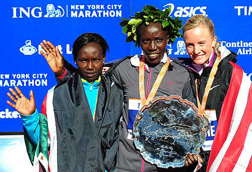 Winners of the 2010 New York City Marathon