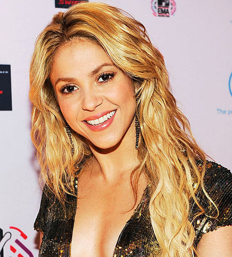 Shakira at the 2010 MTV Europe Awards