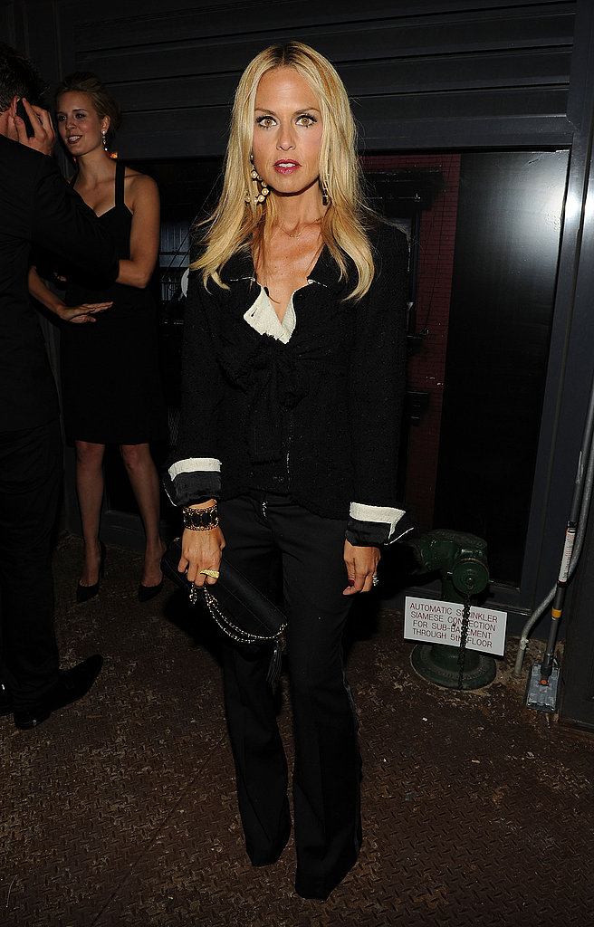 September 2010: Chanel Dinner for Karl Lagerfeld