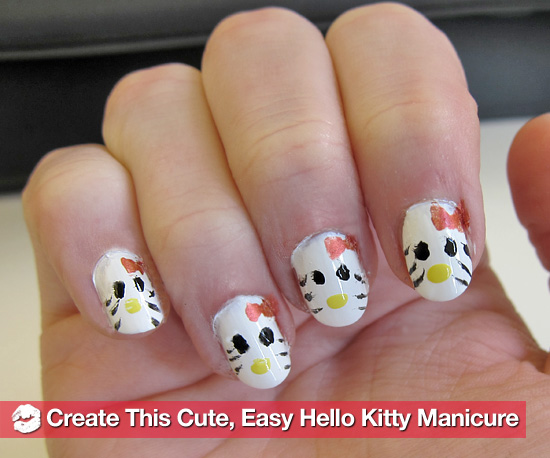 Happy Birthday, Hello Kitty! Here's a Manicure For You