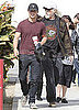 Pictures of Shia LaBeouf Shopping With His Father in LA