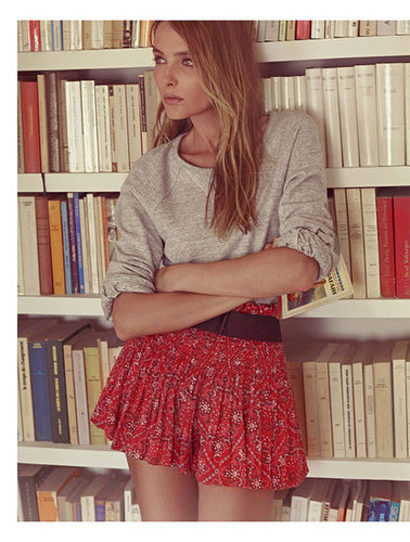 Pictures of Snejana Onopka For Isabel Marant