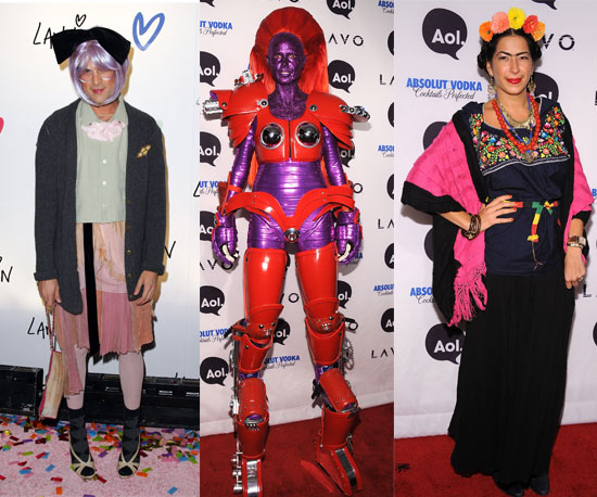 Celebrities Show Off Their Scary-Chic Halloween Costumes