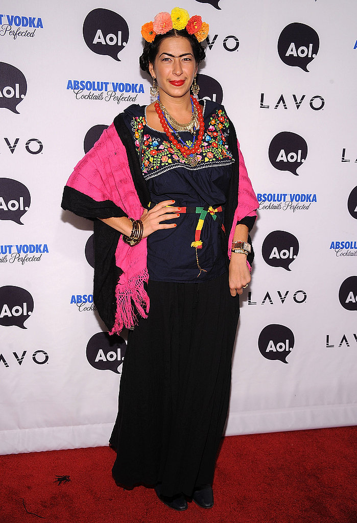 Rebecca Minkoff's Frida Kahlo costume was perfectly executed, right down to the artist's trademark unibrow.