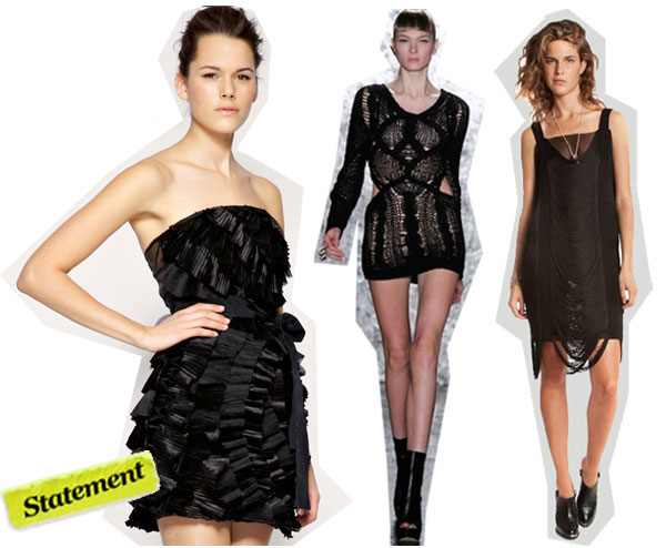 Shop the Best LBDs for the 2010 Holiday Season Parties