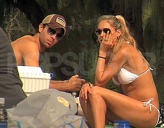 Pictures of Anna Kournikova and Enrique Iglesias in Bikini and Shirtless