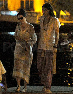 Pictures of Married Russell Brand and Katy Perry in the Maldives on Their Honeymoon