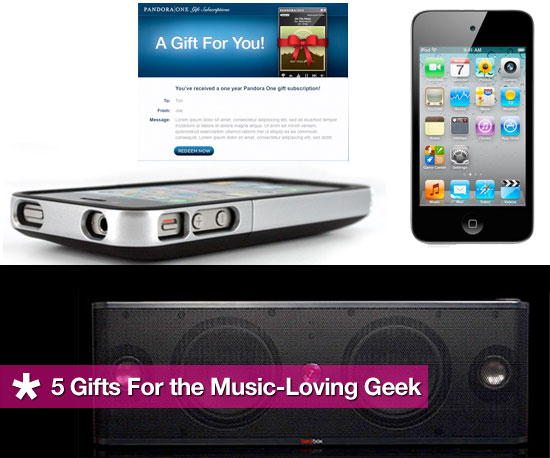 Christmas Gifts For the Music Lover