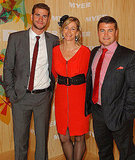 Liam, Leonie and Luke Hemsworth