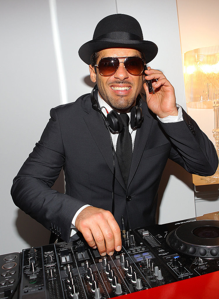 Alex Dimitriades spins some tunes.