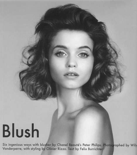 Blushing Beauty: Abbey Lee Kershaw in The Gentlewoman