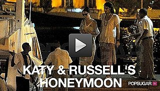 Pictures of Katy Perry and Russell Brand on Their Honeymoon 2010-11-03 14:30:00