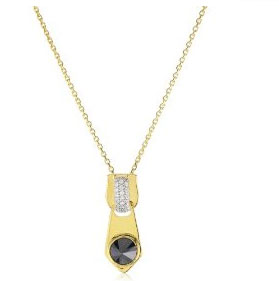 Soho Sterling Silver With 18k Gold Wash Pendant ($110)