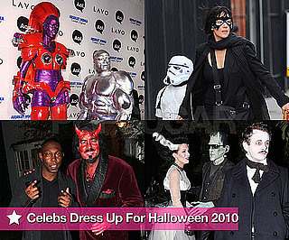 Pictures of Celebrities in Halloween Costumes in 2010