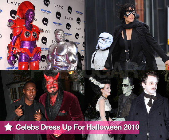 See Celebrities Dress Up For Halloween 2010!