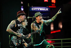 Good Charlotte Rocks Out at Universal CityWalk's New Concert Series