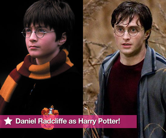 Pictures of Daniel Radcliffe as Harry Potter Through the Years in All Films