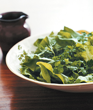 Tender Greens With Champagne Vinaigrette