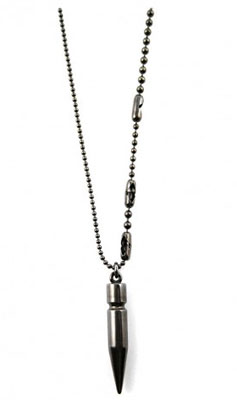 True Blood Eric's Bullet Necklace ($130)