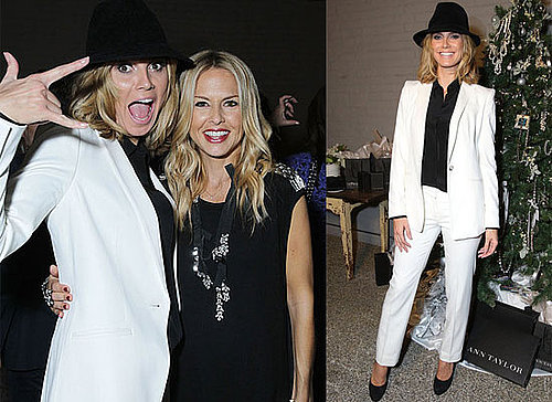 Heidi Klum, Rachel Zoe and Debra Messing at a Holiday Dinner in LA