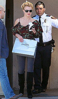 Pictures of Britney Spears Shopping at Neiman Marcus