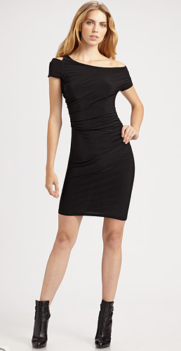 ABC Cut Out Shoulder Dress ($99, originally $165)
