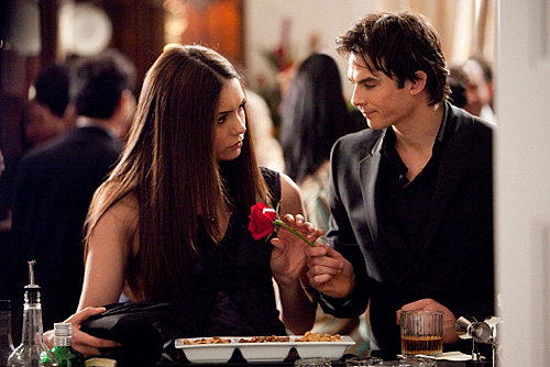 The Vampire Diaries Possible Couples Include Stefan and Katherine and Damon and Elena