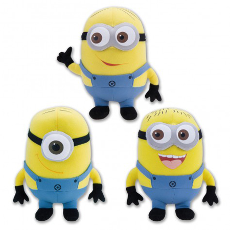 Assemble the Minions Plush Set, $24