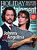 Johnny Depp and Angelina Jolie Entertainment Weekly Cover