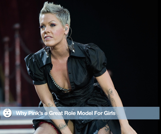 Why Pink Is a Great Role Model For Girls