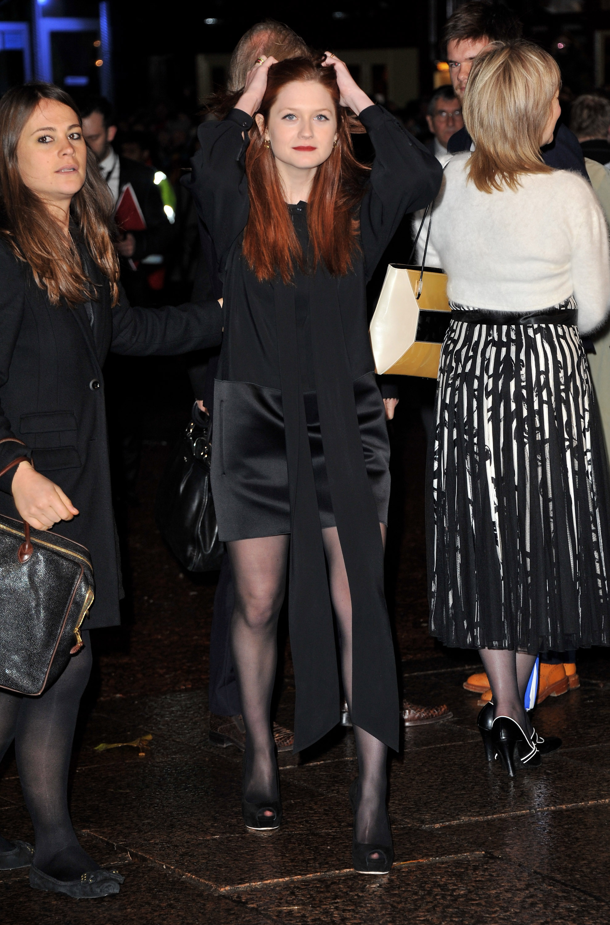 Pictures of Bonnie Wright at Harry Potter and the Deathly Hallows ...