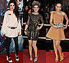 Photos of X Factor Stars Cher, Katie and Rebecca at the Harry Potter Premiere