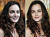 Photos of Leighton Meester Almost Makeup Free at the 2010 Country Music Awards in Nashville